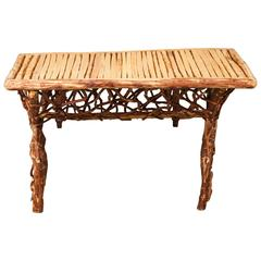 """""""Tom"""" Table in Natural from Morocco"""