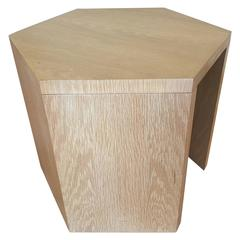 Geometric Occasional Table by Jay Spectre