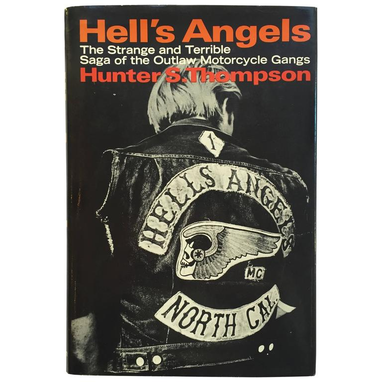 Hunter S. Thompson Hell's Angels First Edition 1967 For Sale