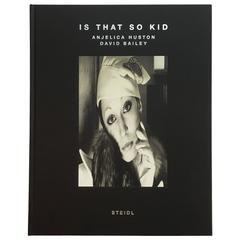 """""""David Bailey & Anjelica Huston – Is That So Kid"""" Book, Signed"""