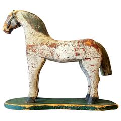 19th Century Wooden Child's Horse