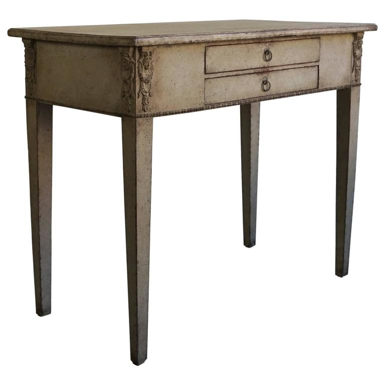 Early 19th century swedish gustavian side table at 1stdibs for Oka gustavian side table