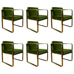 Original Set of Six Armchairs