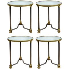 Set of Four Pedestals Attributed to Jansen