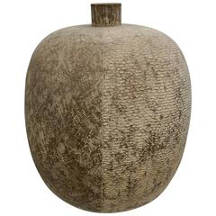 Textured Ceramic Vessel by Claude Conover
