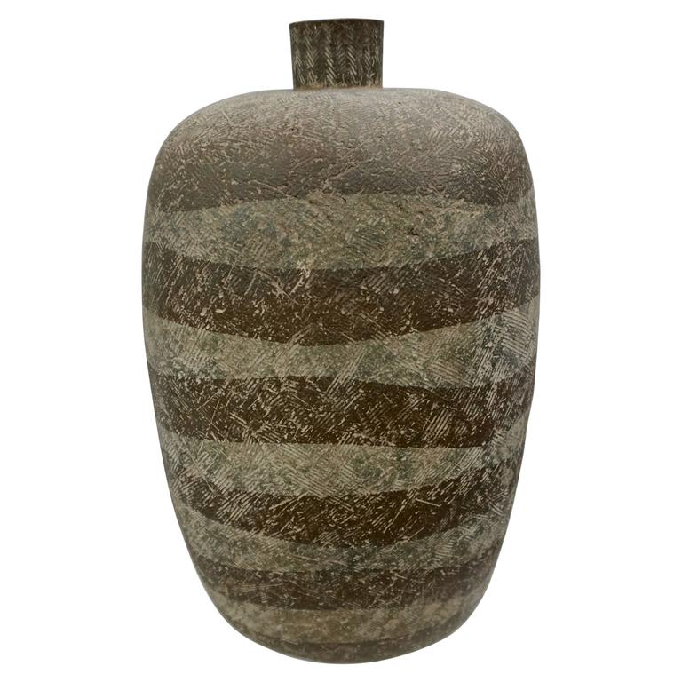 Large Ceramic Vessel by Claude Conover 1