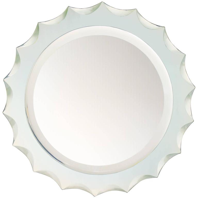 Italian 1960s Wall Mirror For Sale