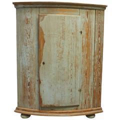 Delightful 18th Century, Gustavian Corner Cabinet