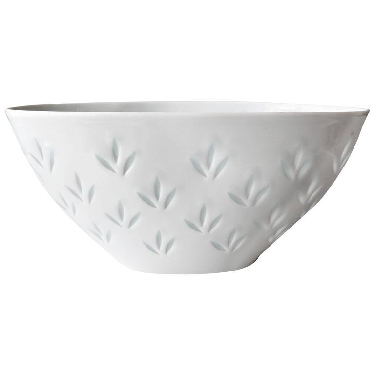 Modern Porcelain Bowl for Arabia by Friedl Holzer Kjellberg