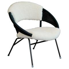 Danish Mid-Century Rattan Chair by Hovmand Olsen for A. R. Klingenberg and Son