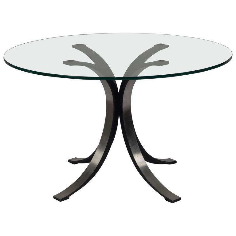 Osvaldo Borsani Center or Dining Table For Sale