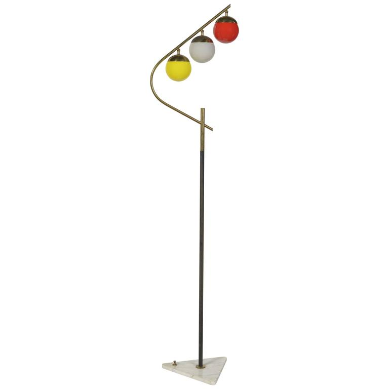 1960s Italian Floor Lamp For Sale