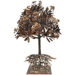 Lifesize Bronze Champa Tree