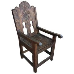 Moroccan Cedar Wood Chairs
