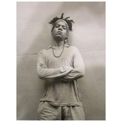 Basquiat 6 Silver Gelatin Photographs by Ari Marcopoulos