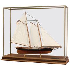 """Model of the Schooner Yacht """"America"""""""