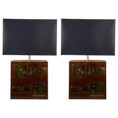 Pair of 1960s Lamps