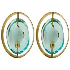 Pair of Sconces in the style of Max Ingrand Modèle 2020