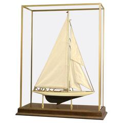 """Model of the America's Cup Yacht """"Enterprise"""""""