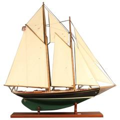 "John Alden's Model of the Schooner ""Malabar X"""