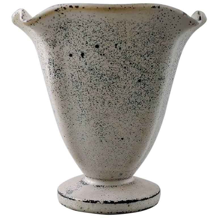 svend hammershoi for k hler denmark glazed vase 1930s for sale at 1stdibs. Black Bedroom Furniture Sets. Home Design Ideas