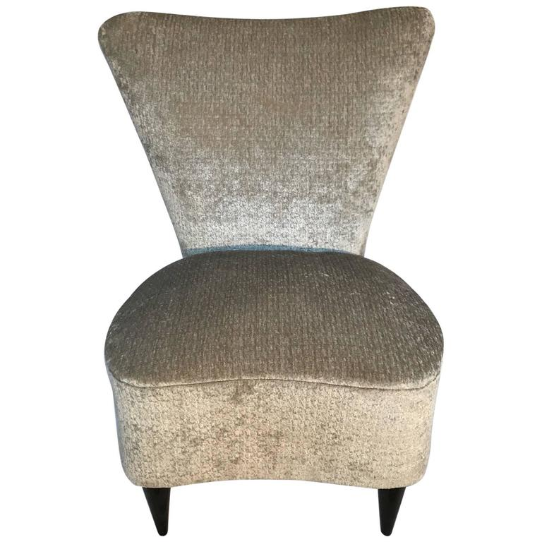 Single Small Bedroom Chair, Italian, 1940s At 1stdibs