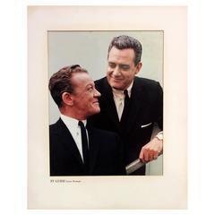 """""""Perry Mason"""" Raymond Burr Original T.V Guide Cover Portrait, 1963"""
