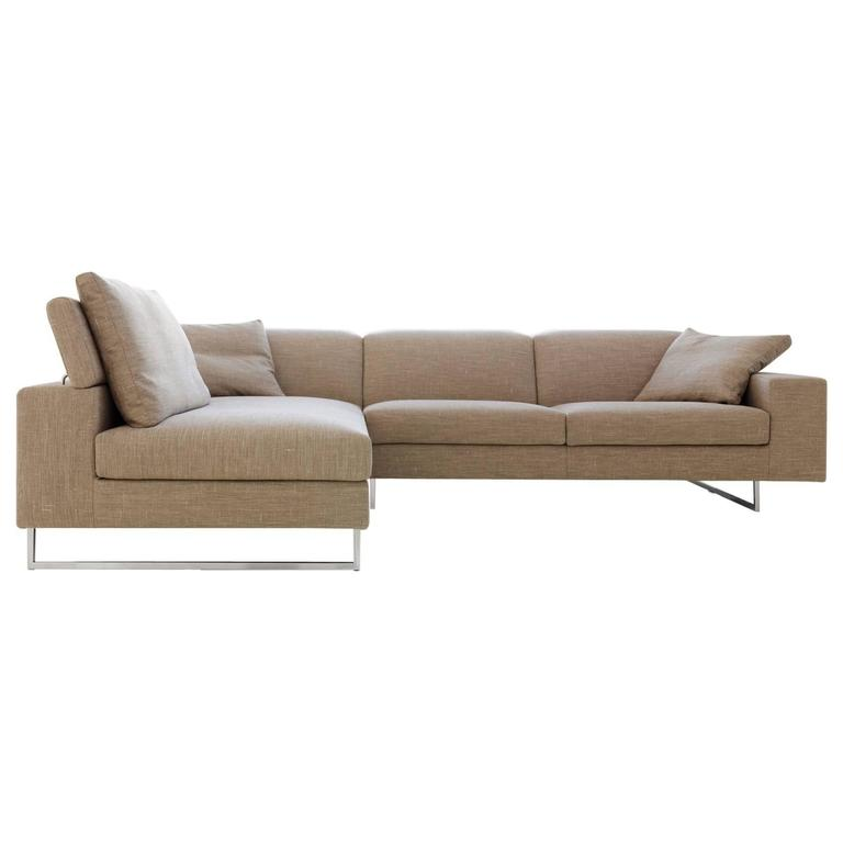 Italian sectional sofa with chaise sct18 made in italy new for sale at 1stdibs - Chaise design italien ...