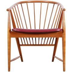 Mid-Century Modern Swedish Chair