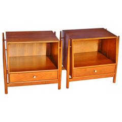 Pair of Kipp Stewart Bedside Tables, Drexel Declaration