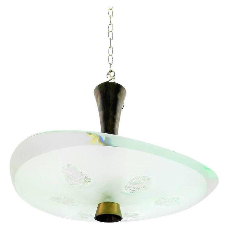 faa97e42b2d Max Ingrand Suspension Lamp Model 1748
