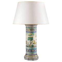 Fine Italian Lamp of Large-Scale