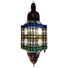 Moroccan Glass Lantern 'the Beast'