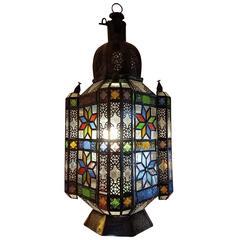 Moroccan Glass Lantern 'The Giant'