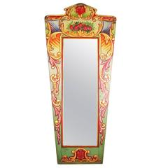 Late 19th Century Fairground Gallopers Mirror