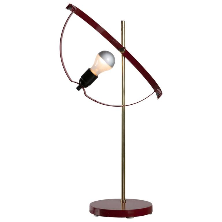 Rare Table Lamp by Reggiani For Sale