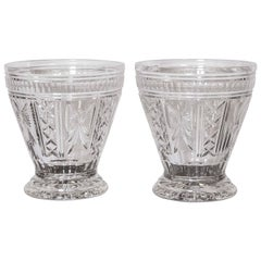 """Pair of Waterford Cut Crystal Vases, Signed """"O'leary, 1998"""""""