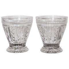 "Pair of Waterford Cut Crystal Vases, Signed ""O'leary, 1998"""