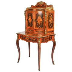19th Century Marquetry Side Cabinet