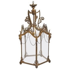 19th Century French Ormolu Lantern