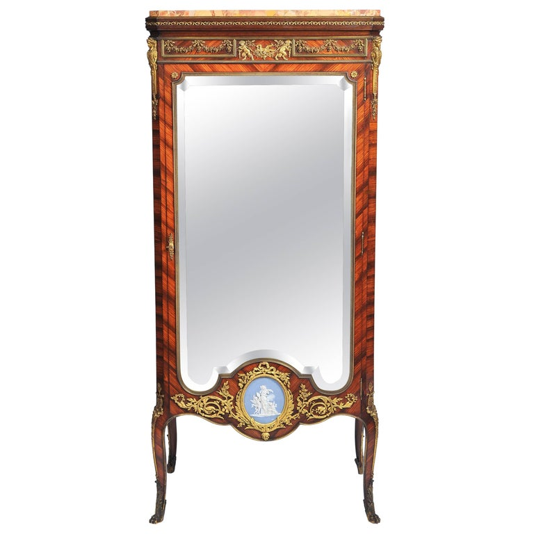 Signed Linke Vitrine, 19th Century For Sale