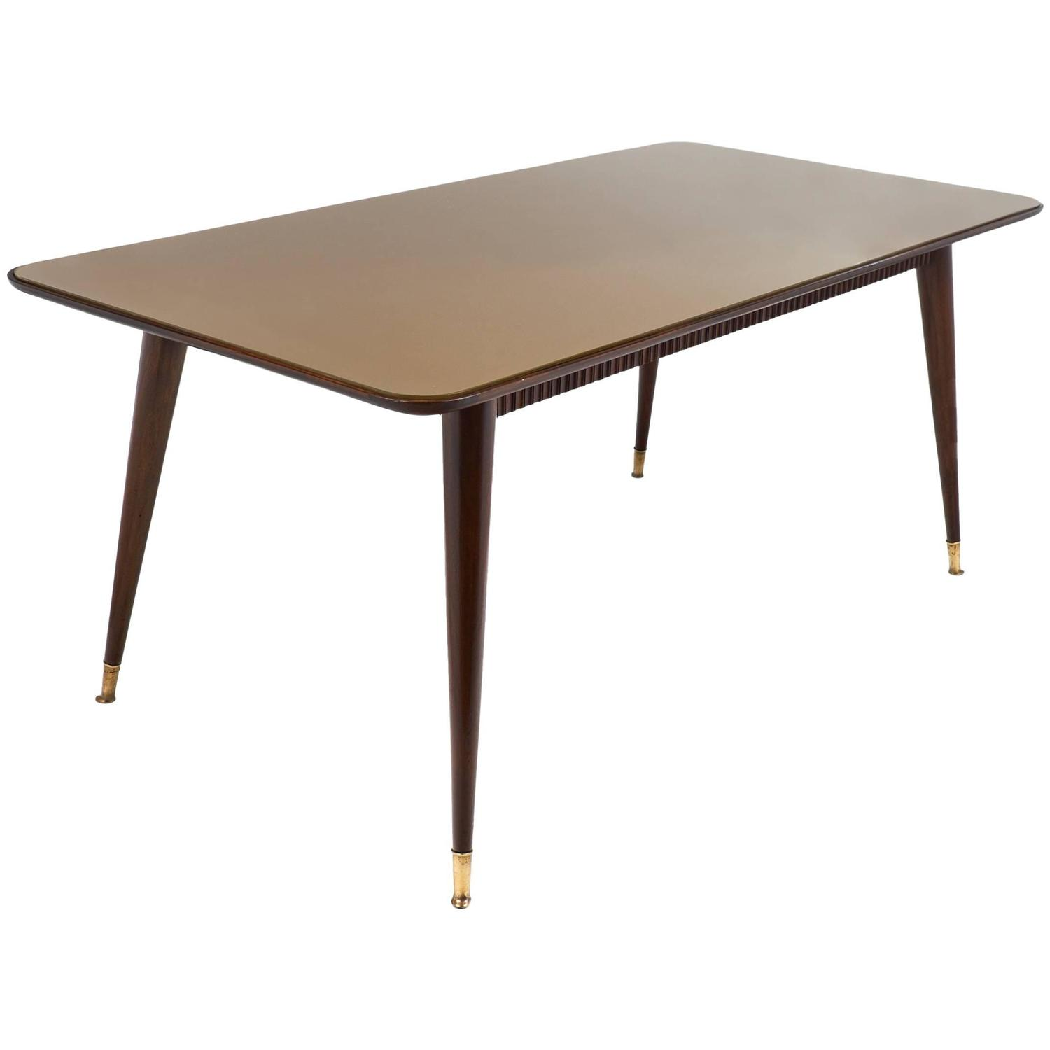 Mid century modern italian dining room table for sale at for Modern dining tables sale