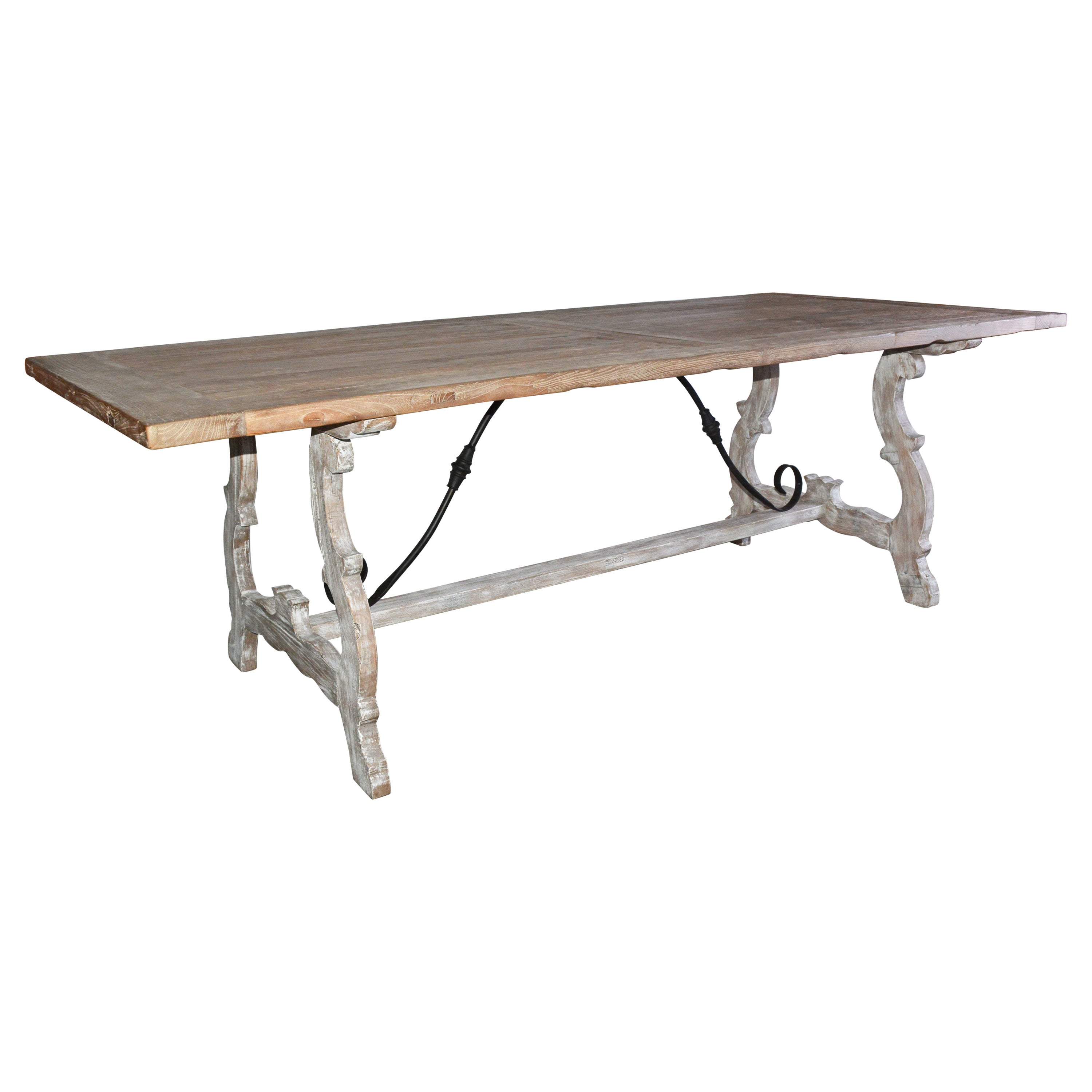 Spanish Renaissance Style Country Dining Table