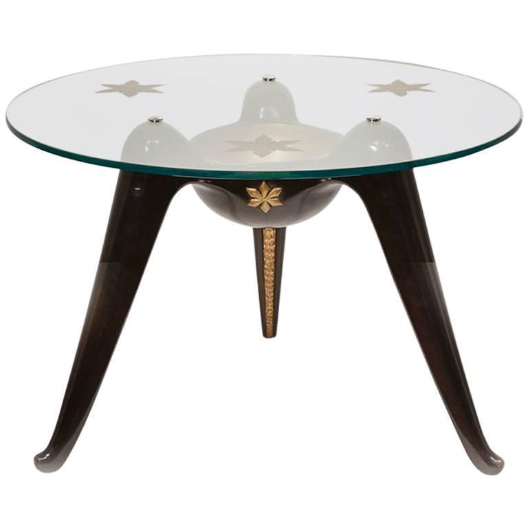 Coffee Table by Osvaldo Borsani For Sale