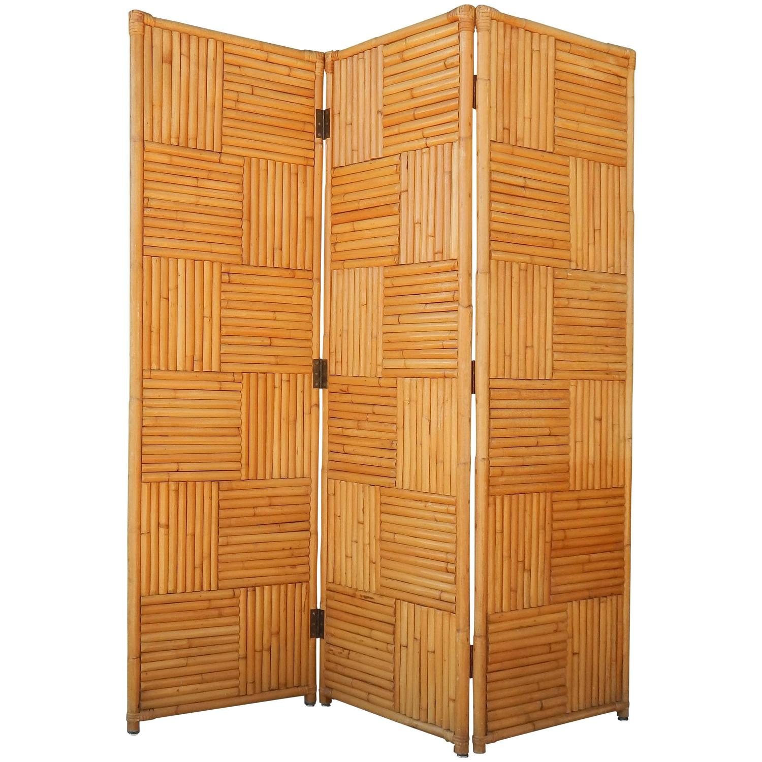Wood And Leather Room Divider For Sale At 1stdibs # Muebles Ralph Lauren Espana