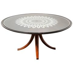 Rare Coffee Table by Pietro Chiesa for Fontana Arte