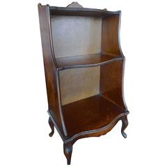 French XIX Small Two Shelf Book Case