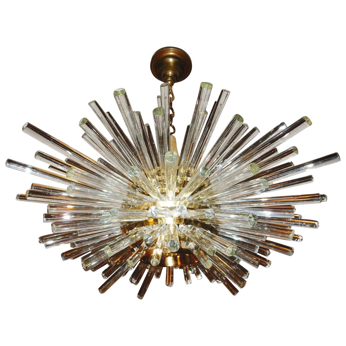 5c6d9a4472 Mid-Century Bakalowits Miracle Crystal Chandelier Vienna Art Glass at  1stdibs