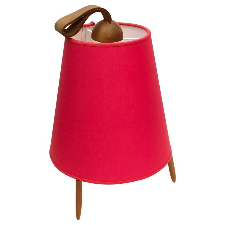 J. T. Kalmar Table Lamp Form the 1950s