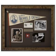 Thomas Dewey & Harry Truman Presidential Election Collage, circa 1948